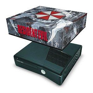 Xbox 360 Slim Capa Anti Poeira - Resident Evil Umbrella