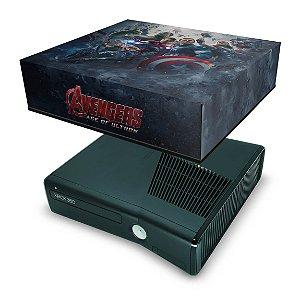 Xbox 360 Slim Capa Anti Poeira - Vingadores Ultron