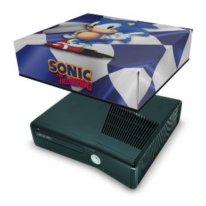 Xbox 360 Slim Capa Anti Poeira - Sonic The Hedgehog