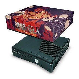 Xbox 360 Slim Capa Anti Poeira - Attack On Titan #a