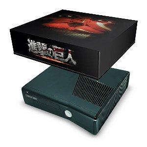 Xbox 360 Slim Capa Anti Poeira - Attack On Titan #b