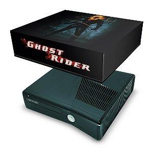 Xbox 360 Slim Capa Anti Poeira - Motoqueiro Fantasma B