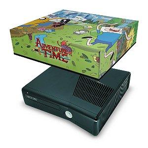 Xbox 360 Slim Capa Anti Poeira - Hora De Aventura