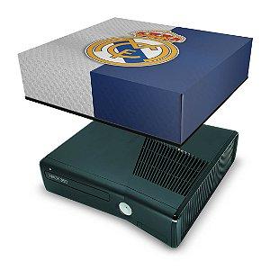 Xbox 360 Slim Capa Anti Poeira - Real Madrid Fc