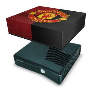 Xbox 360 Slim Capa Anti Poeira - Manchester United