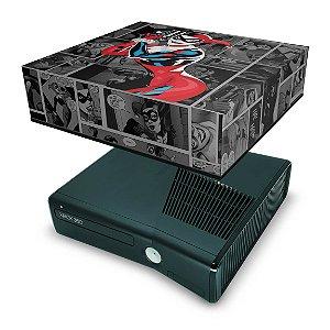 Xbox 360 Slim Capa Anti Poeira - Arlequina Harley Quinn