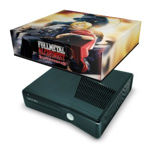 Xbox 360 Slim Capa Anti Poeira - Fullmetal Alchemist