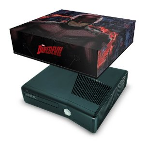 Xbox 360 Slim Capa Anti Poeira - Daredevil Demolidor