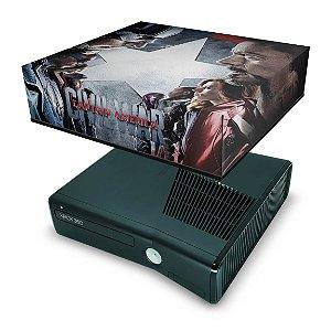 Xbox 360 Slim Capa Anti Poeira - Capitão America B