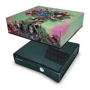 Xbox 360 Slim Capa Anti Poeira - Esquadrão Suicida #b