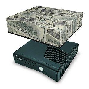 Xbox 360 Slim Capa Anti Poeira - Dollar Money Dinheiro