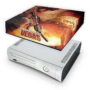 Xbox 360 Fat Capa Anti Poeira - Rainbow Six Vegas