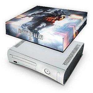 Xbox 360 Fat Capa Anti Poeira - Battlefield 3