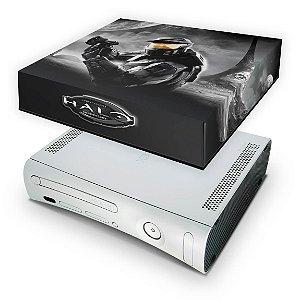Xbox 360 Fat Capa Anti Poeira - Halo Anniversary