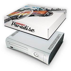 Xbox 360 Fat Capa Anti Poeira - Burnout Paradise