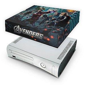 Xbox 360 Fat Capa Anti Poeira - Avengers Vingadores