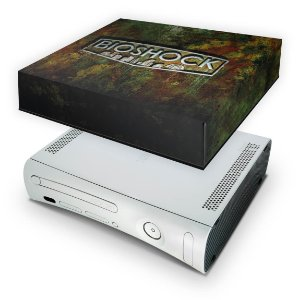 Xbox 360 Fat Capa Anti Poeira - Bioshock