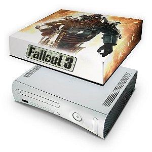 Xbox 360 Fat Capa Anti Poeira - Fallout 3