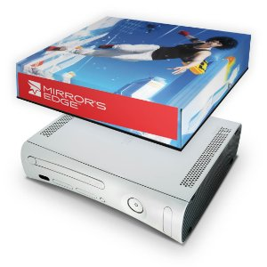 Xbox 360 Fat Capa Anti Poeira - Mirrors Edge