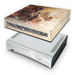 Xbox 360 Fat Capa Anti Poeira - Transformers Revenge