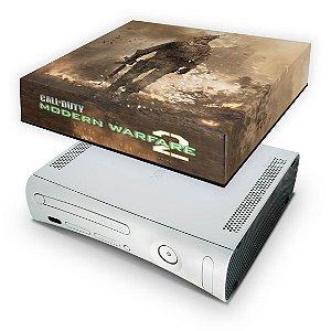 Xbox 360 Fat Capa Anti Poeira - Modern Warfare 2
