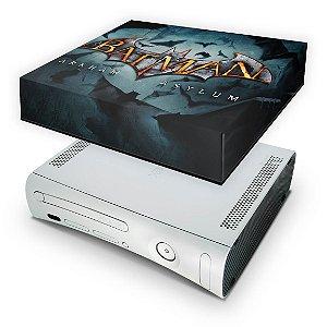 Xbox 360 Fat Capa Anti Poeira - Batman Arkham Asylum