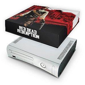 Xbox 360 Fat Capa Anti Poeira - Red Dead Redemption