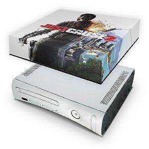 Xbox 360 Fat Capa Anti Poeira - Just Cause 2