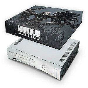 Xbox 360 Fat Capa Anti Poeira - Aliens Vs Predators