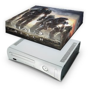 Xbox 360 Fat Capa Anti Poeira - Halo Reach