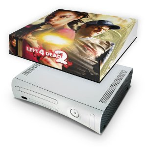Xbox 360 Fat Capa Anti Poeira - Left 4 Dead 2