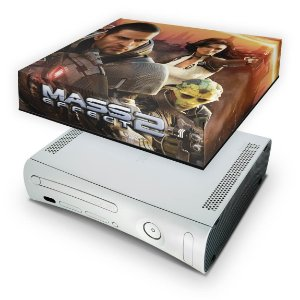Xbox 360 Fat Capa Anti Poeira - Mass Effect 2