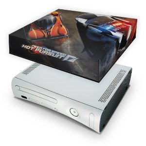 Xbox 360 Fat Capa Anti Poeira - Need For Speed