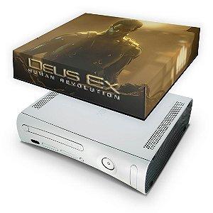 Xbox 360 Fat Capa Anti Poeira - Deus Ex