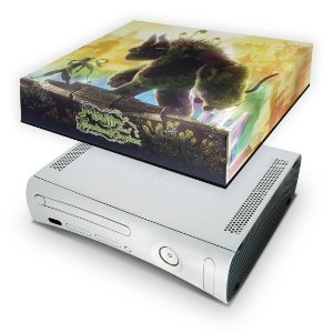Xbox 360 Fat Capa Anti Poeira - Majin Forsaken