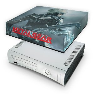 Xbox 360 Fat Capa Anti Poeira - Metal Gear Solid Rising