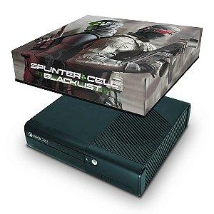Xbox 360 Super Slim Capa Anti Poeira - Splinter Cell Conviction