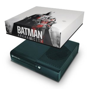 Xbox 360 Super Slim Capa Anti Poeira - Batman Arkham City