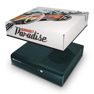 Xbox 360 Super Slim Capa Anti Poeira - Burnout Paradise