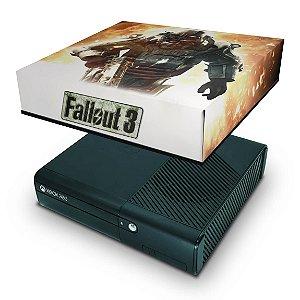 Xbox 360 Super Slim Capa Anti Poeira - Fallout 3