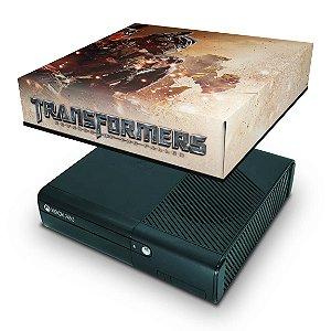 Xbox 360 Super Slim Capa Anti Poeira - Transformers Revenge