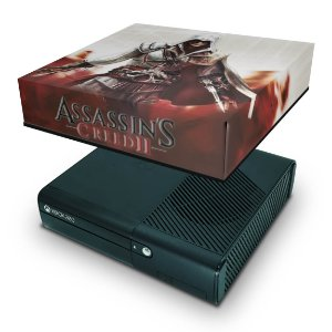 Xbox 360 Super Slim Capa Anti Poeira - Assassins Creed 2