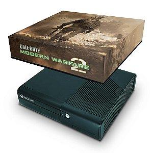 Xbox 360 Super Slim Capa Anti Poeira - Modern Warfare 2