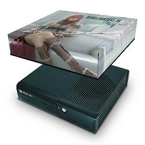 Xbox 360 Super Slim Capa Anti Poeira - Final Fantasy Xiii #a