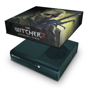 Xbox 360 Super Slim Capa Anti Poeira - The Witcher 2
