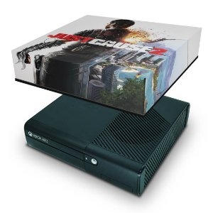 Xbox 360 Super Slim Capa Anti Poeira - Just Cause 2