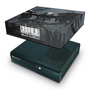 Xbox 360 Super Slim Capa Anti Poeira - Aliens Vs Predators