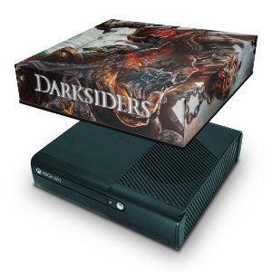 Xbox 360 Super Slim Capa Anti Poeira - Darksiders Wrath Of War