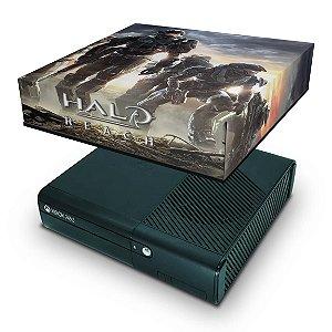 Xbox 360 Super Slim Capa Anti Poeira - Halo Reach