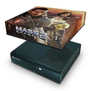 Xbox 360 Super Slim Capa Anti Poeira - Mass Effect 2